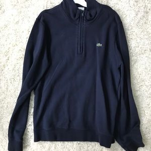 Lacoste Navy Blue Pullover